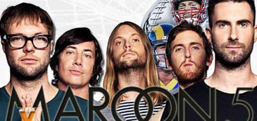 Maroon 5 before the game