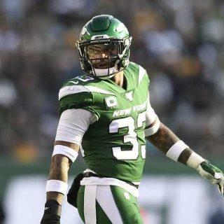 Jamal Adams in a New York Jets uniform
