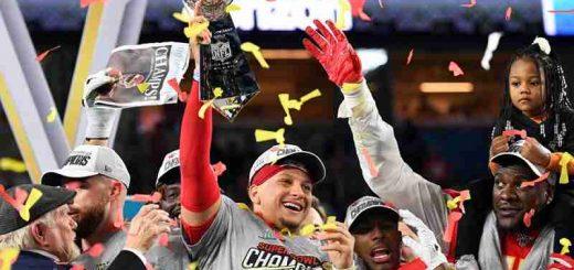Patrick Mahomes wins Super Bowl 55