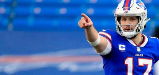 Josh Allen betting odds for Super Bowl LV