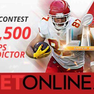 BetOnline Super Bowl LV Prop Bet Promo 2021