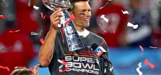 Brady Wins Super Bowl 55