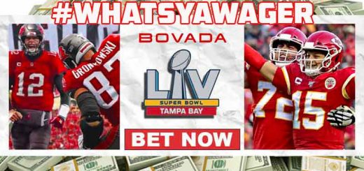 Bovada Whatsyawager Promotion for Super Bowl 55 prop bets