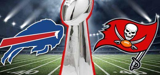 Super Bowl LVI odds Buccaneers Bills 2021
